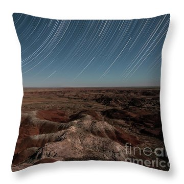 Throw Pillow featuring the photograph Sands Of Time by Melany Sarafis