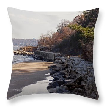 Sands Point Shore 2 Throw Pillow