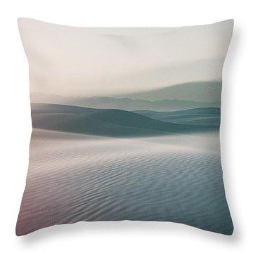 Sands Sunset Throw Pillow