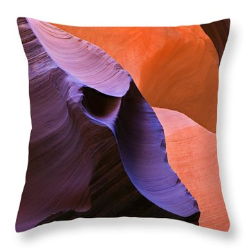 Sandstone Apparition Throw Pillow by Mike  Dawson
