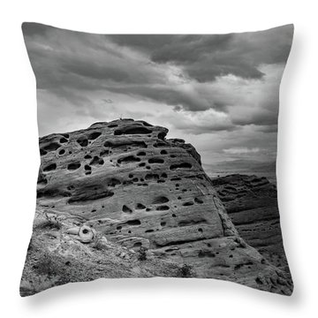 Sandstone Butte Throw Pillow