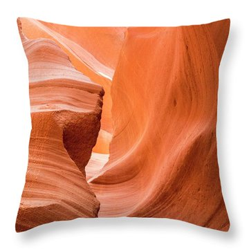 Sandstone Swirls  Throw Pillow