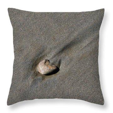 Sandstone Throw Pillow by Victoria Harrington