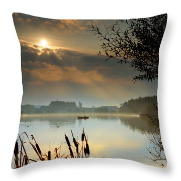 Sandy Water Park 1 Throw Pillow