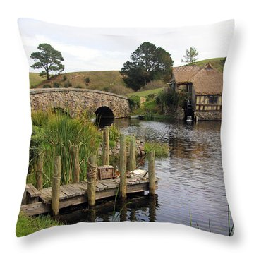 Sandyman's Mill Throw Pillow