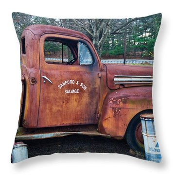 Sanford And Son Salvage 1 Throw Pillow