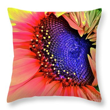 Sangria Throw Pillow by Gwyn Newcombe