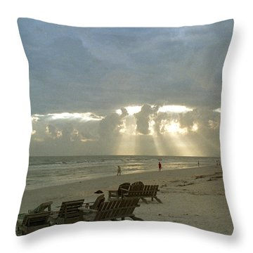 Sanibel Island Fl Throw Pillow