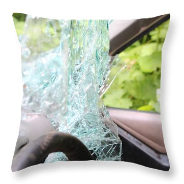 Throw Pillow featuring the photograph Sans Rear View by Marie Neder