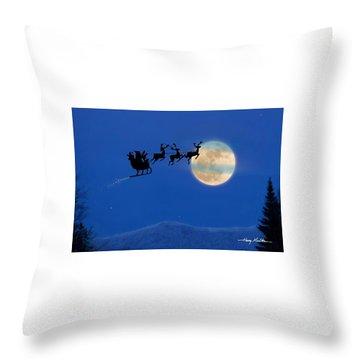 Santa 1 Throw Pillow