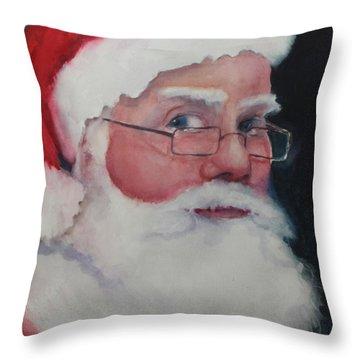 Santa 2016 Throw Pillow