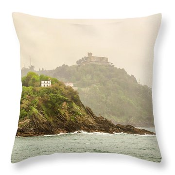 Santa Clara Island Throw Pillow