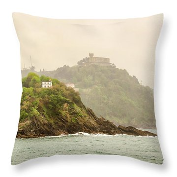 Santa Clara Island Throw Pillow