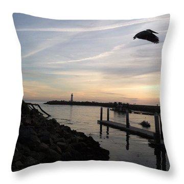 Santa Cruz Evening Throw Pillow