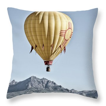 Throw Pillow featuring the photograph Santa Fe Air Force by Kevin Munro