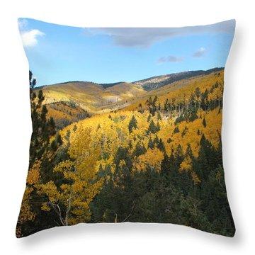 Santa Fe Autumn View Throw Pillow