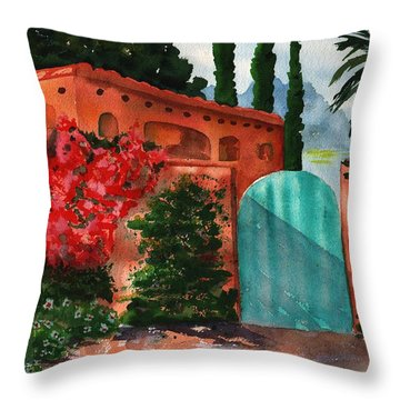 Santa Fe Dwelling Throw Pillow