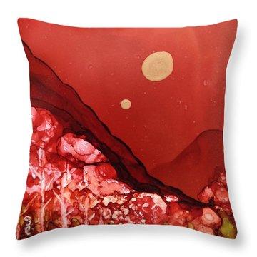 Santa Fe Moonrise Throw Pillow