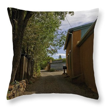 Santa Fe Road Throw Pillow by Madeline Ellis