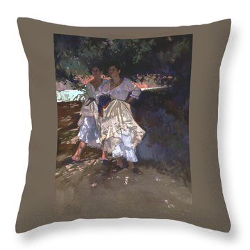 Santa Fe Shade Throw Pillow