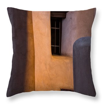 Santa Fe Steps Throw Pillow