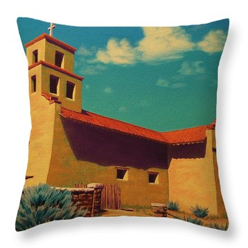 Santa Fe Tradition Throw Pillow