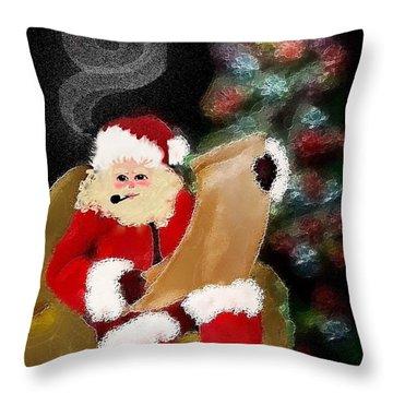 Santa  Throw Pillow