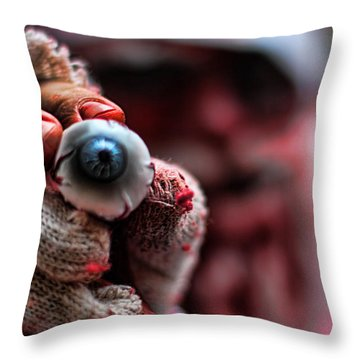 Santa Is Watching You Throw Pillow