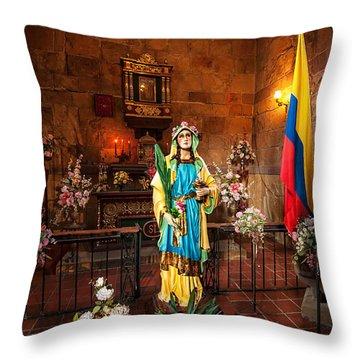 Santa Lucia Throw Pillow