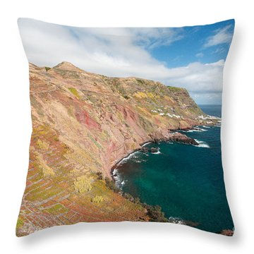 Santa Maria - Azores Throw Pillow by Gaspar Avila