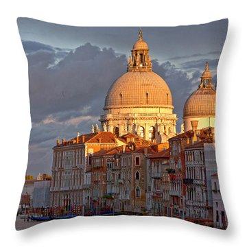 Santa Maria Della Salute Throw Pillow by Heiko Koehrer-Wagner