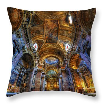 Santa Maria Maddalena Throw Pillow