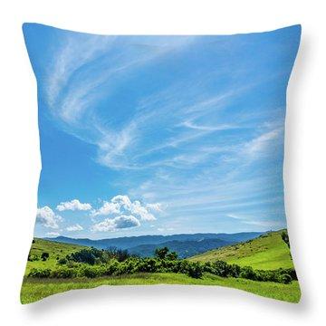 Santa Teresa County Park Throw Pillow
