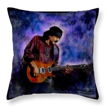 Santana Throw Pillow by Betta Artusi