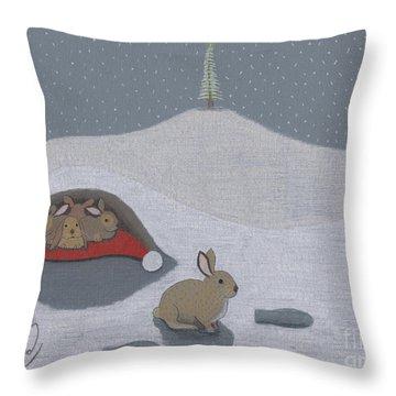 Santa's Ultimate Gift Throw Pillow