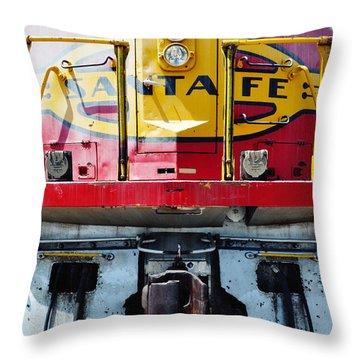 Sante Fe Railway Throw Pillow