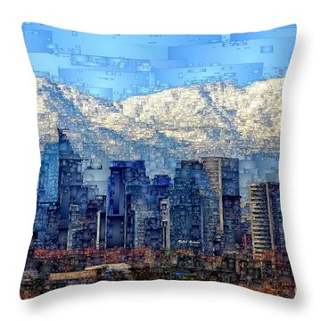 Santiago De Chile, Chile Throw Pillow