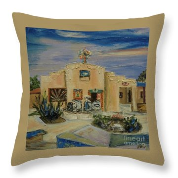 Santo Nino De Atocha - Sold Throw Pillow by Judith Espinoza