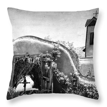 Santuario De Chimayo Throw Pillow