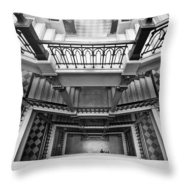 Sao Paulo - Gorgeous Staircases Throw Pillow