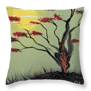 Sapling Throw Pillow