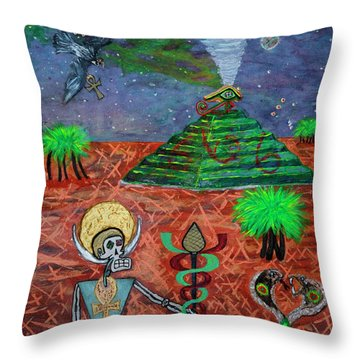 Saqqara Cooomplete Throw Pillow