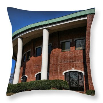 Sara Hightower Regional Library Throw Pillow