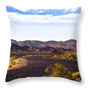 Sara At Sunrise Throw Pillow by Gilbert Artiaga
