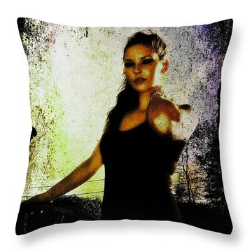 Sarah 1 Throw Pillow