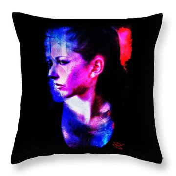 Sarah 2 Throw Pillow