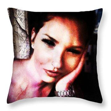 Sarah 3 Throw Pillow