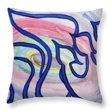 Sarah Nf2-123b Throw Pillow