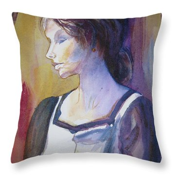 Sarah Sees Throw Pillow