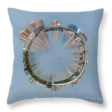 Sarasota Roundabout Throw Pillow